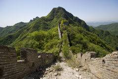 The Great Wall. Of China at Jiankou Stock Photography