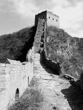 Great Wall. Simatai Great Wall - the real archaic Great Wall that have not been rebuilt by modern, located in Beijing of China Royalty Free Stock Image