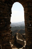 Great Wall. Simatai Great Wall - the real archaic Great Wall that have not been rebuilt by modern, located in Beijing of China. This section is the most Stock Image