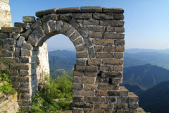 The Great Wall. Of China between Jiankou and Mutianyu Stock Photography