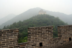 The Great Wall. Of China, outside of Beijing, China Stock Images