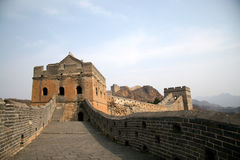 Great Wall. Simatai Great Wall, shot in Beijing Royalty Free Stock Images