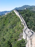Great Wall. The Great Wall of China at Mutianyu Stock Photos