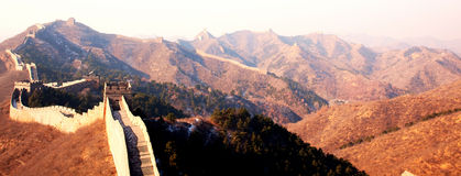Great Wall. Of China at Jinshanling Stock Images