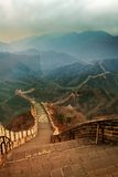 Great wall. JuYongGuan Great Wall is the most advantageous period, they were known as the best in the world with dangerous, it is 15 km away from Badaling Great Stock Image