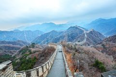 Great wall. The great wall in china beijing Stock Photography