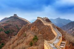 Great wall. The great wall in china beijing Royalty Free Stock Photography