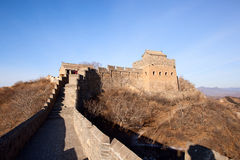 Great Wall. Of China at Jinshanling Stock Photo