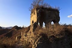 The Great Wall. Relic of The Great Wall in Huludao, liaoning province, northeast China Stock Photography
