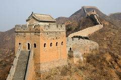 Great Wall. Geart wall of China, shot in Beijing Royalty Free Stock Image