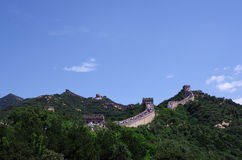 The Great wall. Of China outside Beijing Stock Photo
