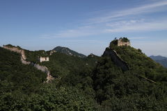 The Great Wall. China great the Great Wall is located in Beijing city Huairou District, known to steep Royalty Free Stock Images
