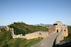 Great Wall. Geart wall of China, shot in Beijing Stock Photos