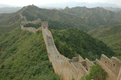 Great wall. Ancient great wall of China Royalty Free Stock Photos