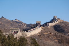 Great wall. The picture of Great wall in BeiJing Stock Photography