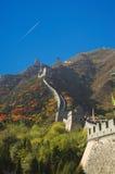 Great wall. In China, near Beijing Royalty Free Stock Photo
