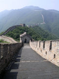 The Great Wall. Of China stock photography