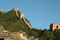 Great Wall. Beijing, China Jiankou Great Wall Ruins Stock Image