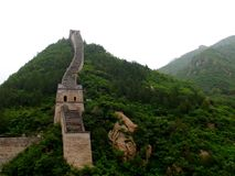 Great Wall. Beijing, China Jiankou Great Wall Ruins Stock Photo