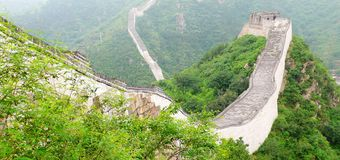 Great Wall. Beijing, China Jiankou Great Wall Ruins Royalty Free Stock Image