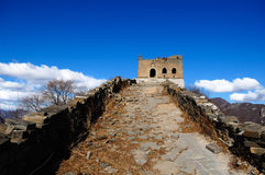The Great Wall. Is also called , is the ancient China collectively and military construction of the vast scale of the northern nomadic peoples to resist the Royalty Free Stock Photography