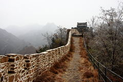 Great wall autumn Stock Images