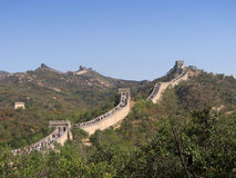 Great Wall Badaling. The Great Wall of China at Badaling Royalty Free Stock Image
