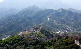 The Great Wall, Beijing, China Royalty Free Stock Photo