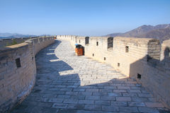 Great wall battlement Stock Images