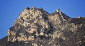 The Great Wall in Beijing Royalty Free Stock Photography