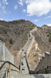 Great Wall. The Great Wall in Beijing of China Stock Images