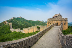 The Great Wall, Beijing, China Royalty Free Stock Images