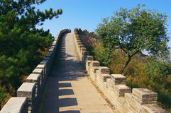The great wall in Chengde Imperial Summer Resort Stock Photography