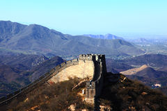 The great wall of china#1 Royalty Free Stock Images
