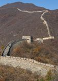 Great Wall of China. Badaling Section of The Great Wall of China, Ming Dynasty Stock Image