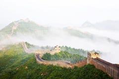 Great wall of China royalty free stock image