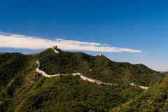 Great Wall of China. The magnificent Great Wall of China Royalty Free Stock Image