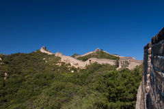 Great Wall of China. The magnificent Great Wall of China Royalty Free Stock Photo