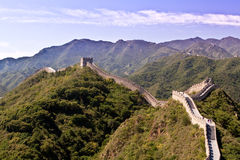 Great Wall of China. The magnificent Great Wall of China Stock Photos