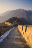 Great Wall of China. Mutianyu Section of the Great Wall of China Royalty Free Stock Image