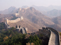 Great Wall of China. The Great Wall of China Royalty Free Stock Photography