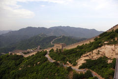 The Great Wall in China. The Great Wall in Beijing, China Royalty Free Stock Images