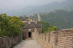 Great Wall, China. View of the Great Wall in Mutianyu, China Stock Photography