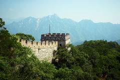 Great wall of China. Guard tower on the Great Wall of China Royalty Free Stock Image