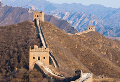 Great Wall, China Stock Images