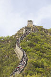 The Great Wall in China royalty free stock image