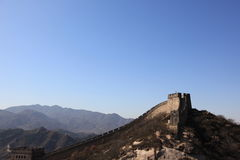 The great wall of china#2 Royalty Free Stock Photos