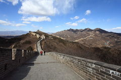 Great Wall of China. Badaling, Beijing, China Royalty Free Stock Photography