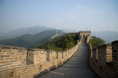The Great Wall of China. North of Beijing. November 2011 Royalty Free Stock Image