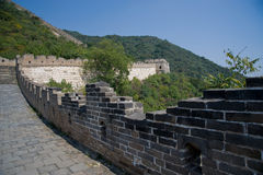 The Great Wall of China. North of Beijing. November 2011 Stock Images
